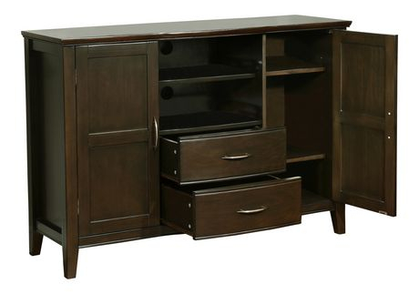 Widely Used Oliver Wide Tv Stands For Wyndenhall Langley Tall Tv Stand (View 7 of 15)