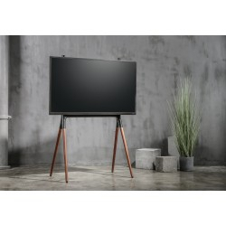 Widely Used Stil Tv Stands Within Reflecta Tv Stand Elegant 70W Schwarz / Walnuss (View 10 of 15)