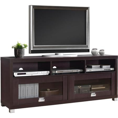 """Widely Used Techni Mobili 58"""" Durbin Tv Stands In Espresso Or Grey Wood Inside Techni Mobili 58"""" Durbin Tv Stand For Tvs Up To  (View 4 of 15)"""