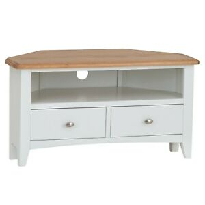 Widely Used White Corner Tv Cabinets For Merlo White Painted Corner Tv Unit / Modern Media Cabinet (View 13 of 15)