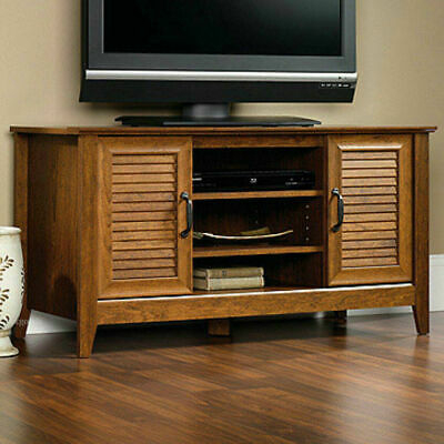 """Wood Panel 47"""" Tv Stand, 5 Shelves 2 Doors Entertainment For 2018 Tv Stands And Bookshelf (View 2 of 15)"""