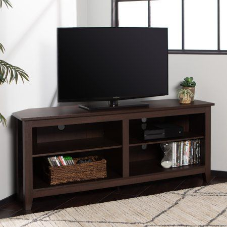 Woven Paths Transitional Corner Tv Stand For Tvs Up To 65 Throughout Most Recent Woven Paths Transitional Corner Tv Stands With Multiple Finishes (View 4 of 15)