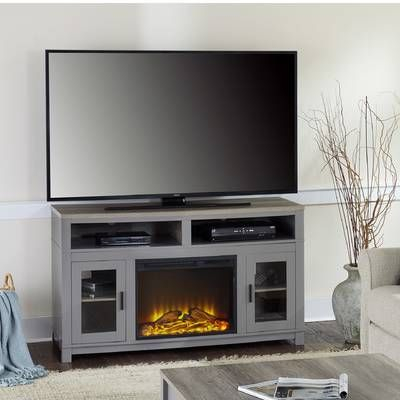 """Wyatt Tv Stand For Tvs Up To 50"""" With Fireplace Included Regarding Most Recent Neilsen Tv Stands For Tvs Up To 50"""" With Fireplace Included (View 3 of 15)"""