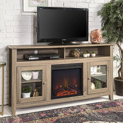 """Zipcode Design Kohn Tv Stand For Tvs Up To 65 Inches With Inside Widely Used Rickard Tv Stands For Tvs Up To 65"""" With Fireplace Included (View 3 of 15)"""