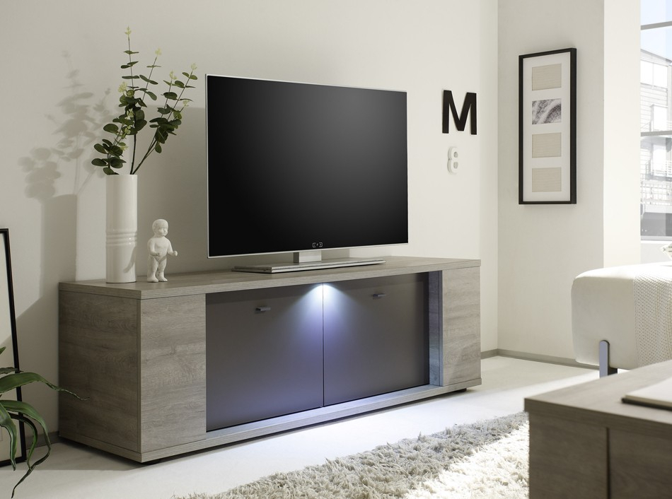 Current Modern Tv Stands With Regard To Modern Tv Stand Sidney Largelc Mobili (View 10 of 11)