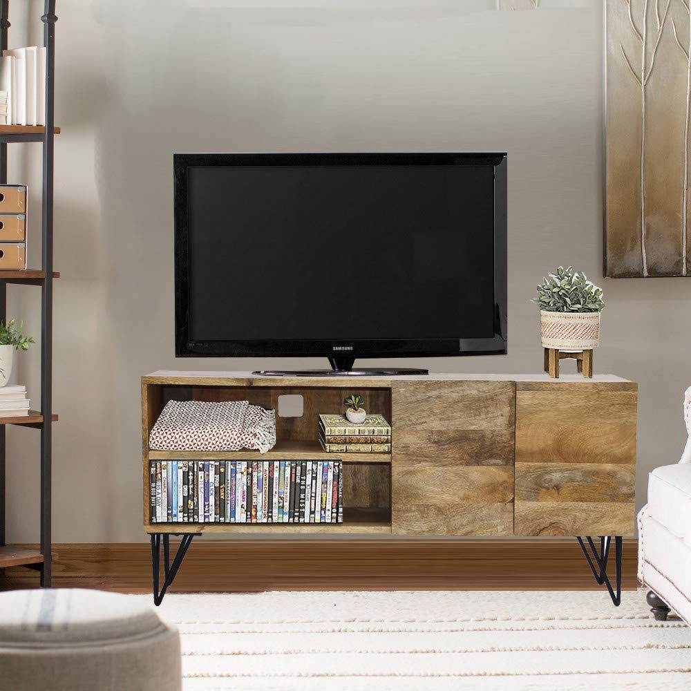 Pin On Storage & Cabinet Intended For Popular Brass Effect Wide Tv Stands (View 8 of 14)
