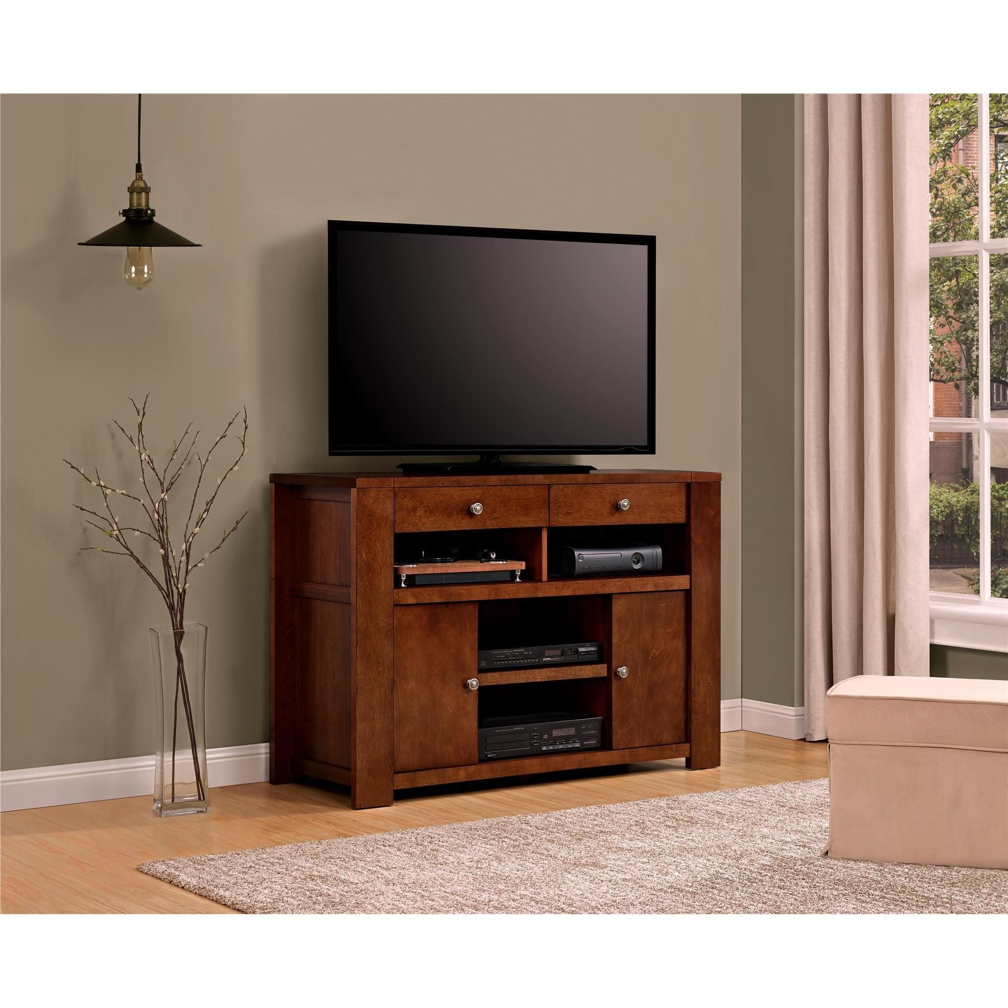 Well Known Brass Effect Wide Tv Stands With Overstock: Online Shopping – Bedding, Furniture (View 6 of 14)