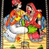 Indian Fabric Art Wall Hangings (Photo 1 of 15)