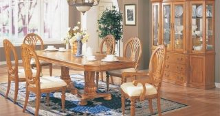 Light Oak Dining Tables and Chairs