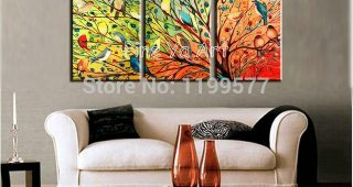 Abstract Living Room Wall Art