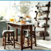 Hamilton 3-Piece Dining Set, Drop Leaf Table W/ 2 Ladder Back Chairs 94366 in Winsome 3 Piece Counter Height Dining Sets (Photo 7724 of 7810)