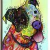 Dog Art Framed Prints (Photo 14 of 15)