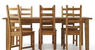 6 Seat Dining Tables and Chairs