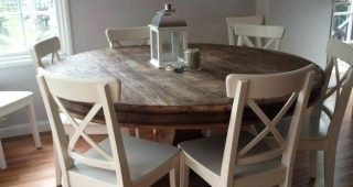 6 Person Round Dining Tables
