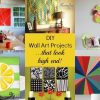 Diy Wall Art Projects (Photo 6 of 25)
