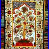 Indian Fabric Art Wall Hangings (Photo 15 of 15)