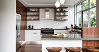 Basic Kitchen Design with Good Appearance