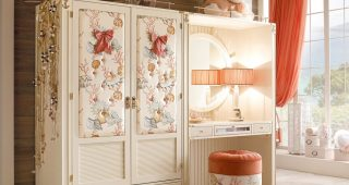 Bedroom Style for Girls with Dressing Room