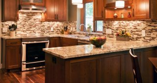 The Types of Tiles on Mosaic Ideas for Kitchen