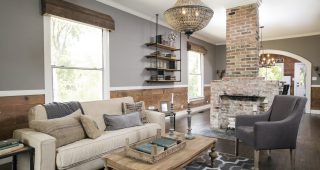 Country Living Room Decor for Warm and Nostalgic Nuance