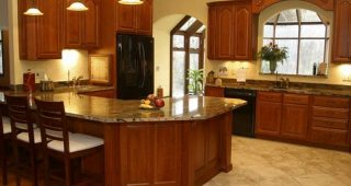 Refacing Kitchen Cabinets in Two Easy Steps