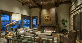 Rustic Western Living Room Interior Decor Style