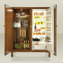 Antique Modern Meneghini Refrigerators and Freezers