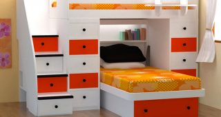 Bedroom for Twin Girls Decoration Sets and Furniture