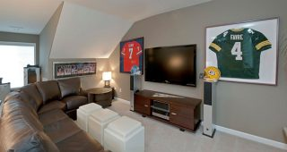 Interior Living Room Designs In Sport Theme
