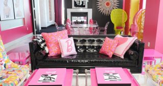 Charming Pink Sofa Pillows for Living Room
