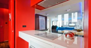 Bright and Eye Catching Red Kitchen Ideas