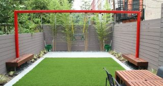 Lovely Backyard Landscaping Ideas for Kids