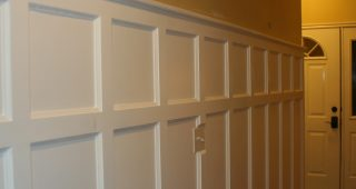 Installing Wainscoting Correctly
