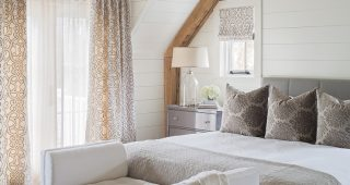Comfortable and Cozy White Bedroom Design
