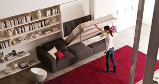 3 Brilliant Ideas of Modern Comfortable Folding Wall Beds
