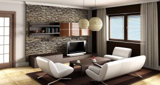 Famous Lamp Designers in Amazing Living Room Decoration