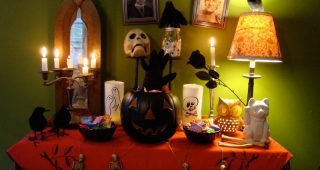 Creepy Halloween Home Decorating Ideas