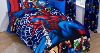 The Application of Avengers Bedding into the Room
