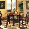 Laurent 5 Piece Round Dining Sets With Wood Chairs (Photo 8 of 25)