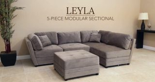 Abbyson Living Sectional