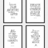 Winnie the Pooh Nursery Quotes Wall Art (Photo 17 of 20)