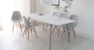 White Dining Tables and Chairs