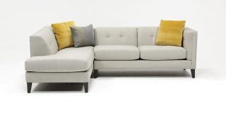 Avery 2 Piece Sectionals With Laf Armless Chaise