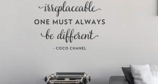 Coco Chanel Wall Stickers
