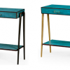 Faux Shagreen Console Tables (Photo 21 of 25)