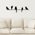 Birds on a Wire Wall Art