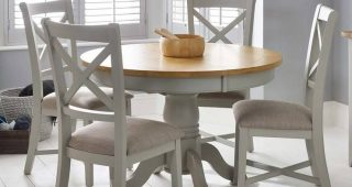 Round Extending Dining Tables and Chairs