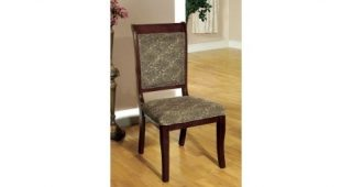Palazzo 6 Piece Dining Sets With Pearson Grey Side Chairs