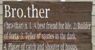 Brother Definition Wall Art