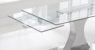 Extending Glass Dining Tables